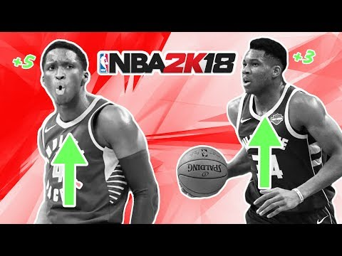 1st Roster Update Of NBA 2K18! VC Giveaway!