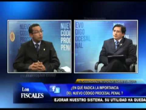 Los Fiscales TV - 09/06/13 - Funciones Específicas Del Juez, El Fiscal Y El Policía
