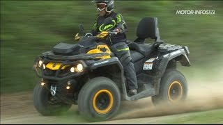 Essai Can-Am Outlander Max 650 XT-P 2014