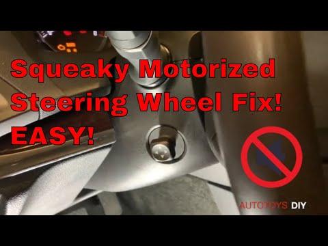 Easy Fix! Squeaky Motorized Steering Wheel in Acura MDX