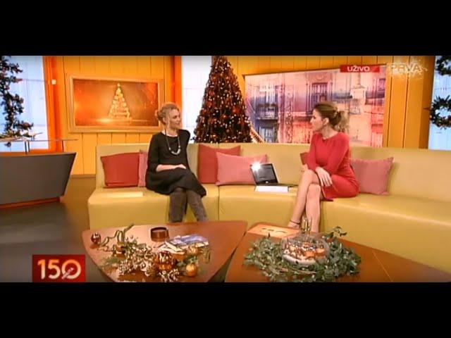 Emisija 150 minuta - TV Prva - Biljana Grbović