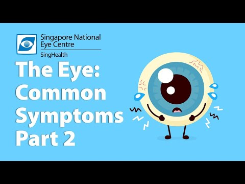 Common Eye Symptoms (Part 2): Eye Discharge, Redness, Itch & More