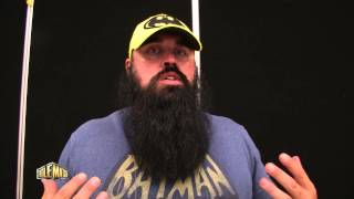 Snitsky shows off his bad ass beard, talks Power Pressure Cooker