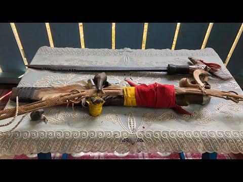 Pusaka Mandau Kalimantan Tengah Suku Dayak Ngaju