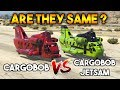 GTA 5 ONLINE : CARGOBOB VS CARGOBOB JETSAM (ARE THEY SAME ?)