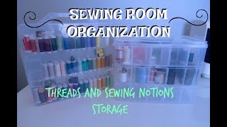 SEWING ROOM ORGANIZATION IDEAS, DECLUTTER WITH ME