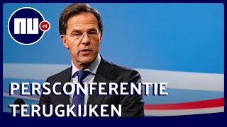 Live om 19:00: Persconferentie Rutte en De Jonge over het coronavirus | NU.nl