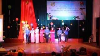 Liên khúc Rạng rỡ Việt Nam. Lớp 11CVH ĐHSP ĐÀ NẴNG