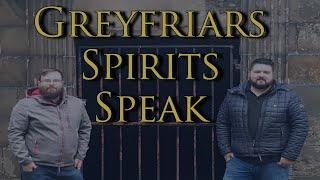 Greyfriars Kirkyard Ghost Tour Voices Captured