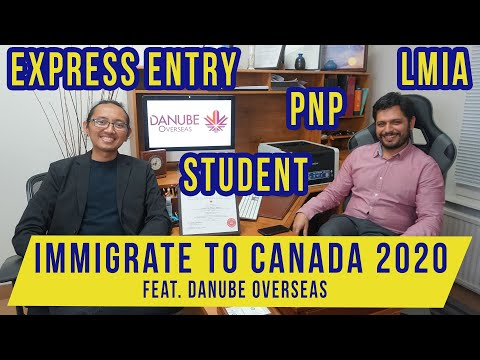 Ep. 3A - Q&A Canada Immigration 2020 feat. Danube Overseas