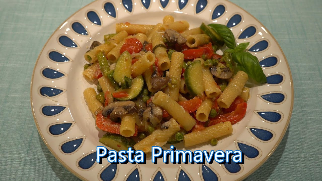 Italian Grandma Makes Pasta Primavera