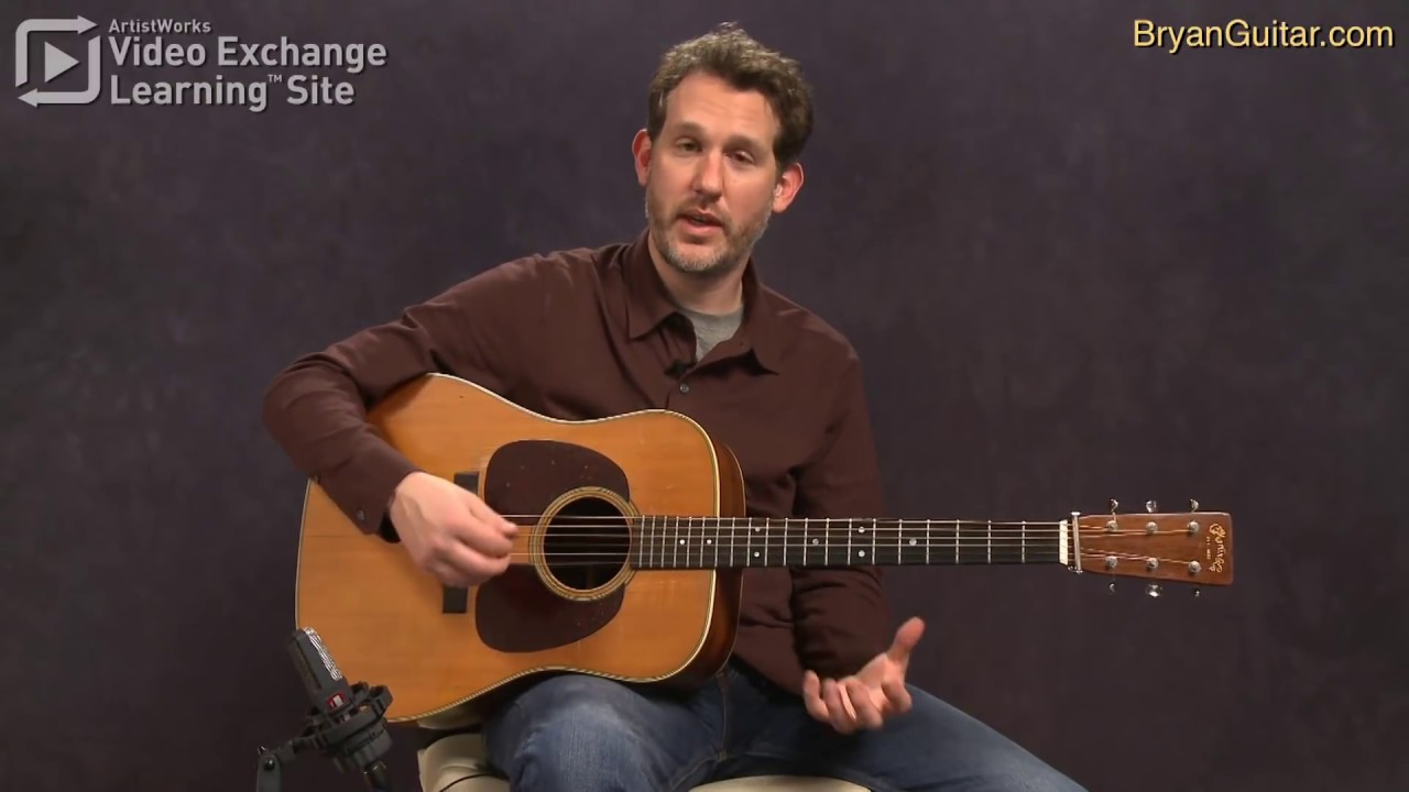 bluegrass guitar with bryan sutton the g run breakdown and history youtube. Black Bedroom Furniture Sets. Home Design Ideas