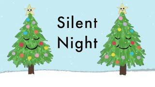 Silent Night - Christmas Song - Lyrics 🎄