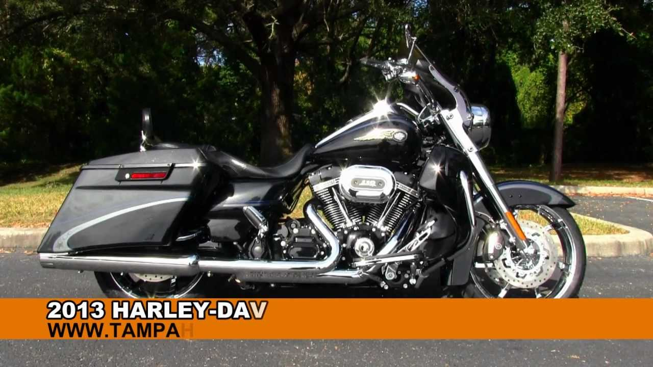New 2013 Harley-Davidson CVO Road King FLHRSE5 Screaming Eagle - YouTube
