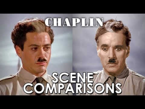 Charles Chaplin and Robert Downey Jr.'s Chaplin - scenes comparisons