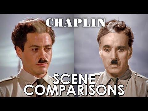 Charles Chaplin and Robert Downey Jr.'s Chaplin 1992   comparisons