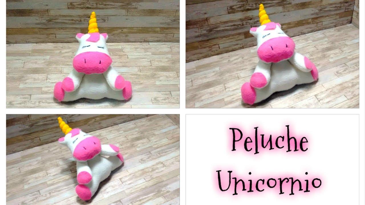 DIY // Como hacer tu propio peluche de unicornio fácil y rápido ...