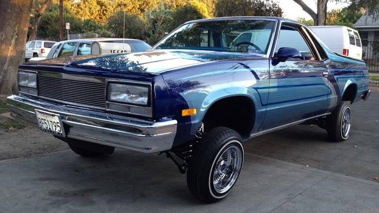 1986 Chevrolet El Camino Custom Lowrider Build Project