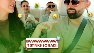 Dhar Ripped The Nastiest Fart, Leslie Almost Throws Up | Dhar and Laura