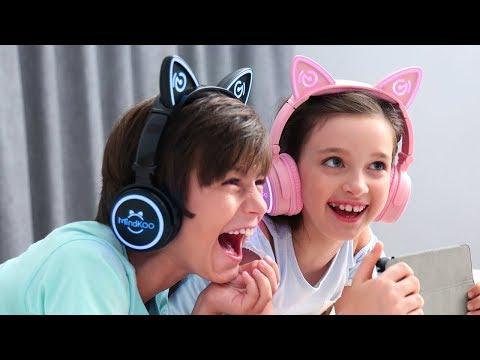 Mindkoo Unicat wireless headphone - kids best stylish gift and companion