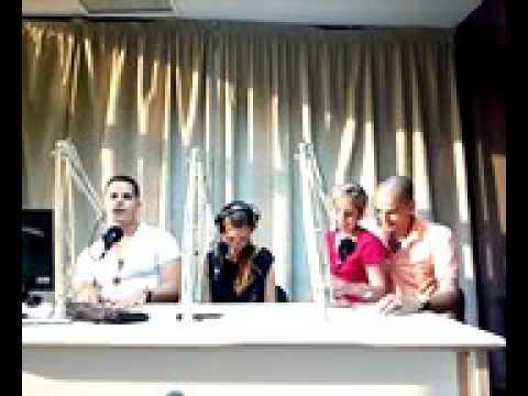 Miguel Angel Chavez, trabajando en Habana Radio