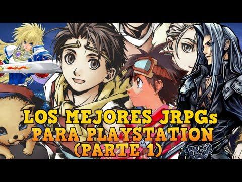 LOS MEJORES JRPGs De PLAYSTATION (Parte 1)