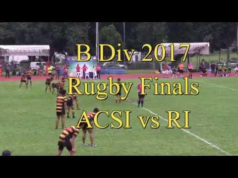 B Div 2017 Rugby Finals ACSI vs RI