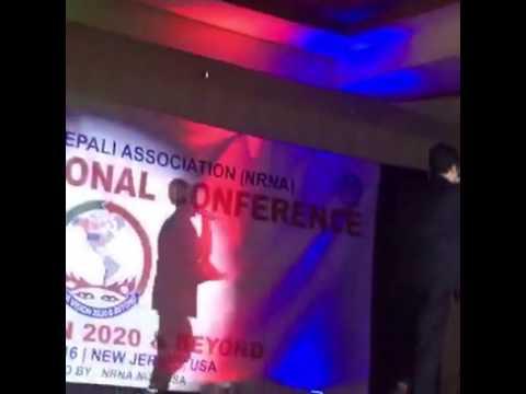 Laija re dance by Bhabisha phuyal in 9th NRNA convention New Jersey.