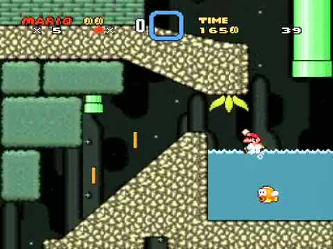 SMW Central Production - 1 - those starting levels