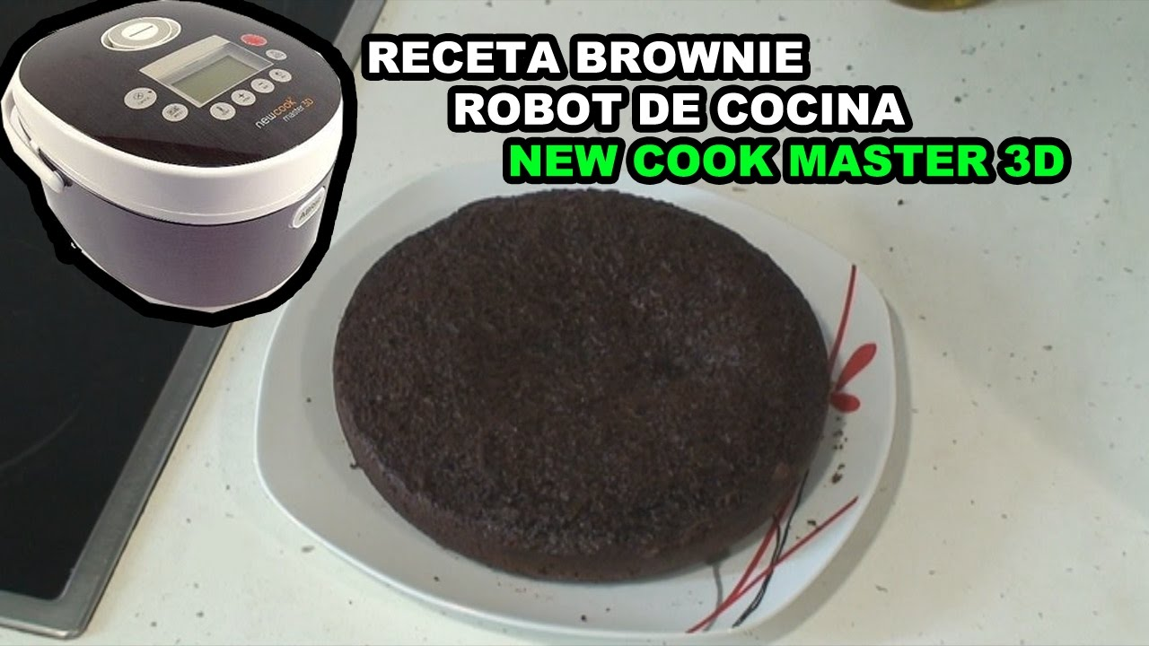 Receta robot de cocina new cook master 3d brownie - Robot cocina elite cook ...