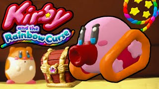 Kirby and the Rainbow Curse Tank Transformation PART 3 World 2 Gameplay Walkthrough Nintendo