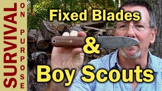 Do the Boy Scouts Prohibit Fixed Blade Knives?