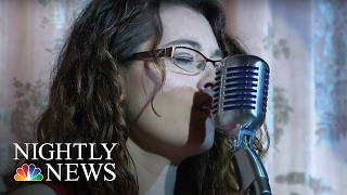 Deaf Jazz Singer Hits All The Right Notes | NBC Nightly News