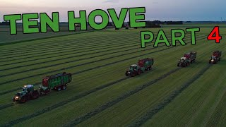 Harvest 2020 with Ten Hove Contracting | All out in grass & maize harvest