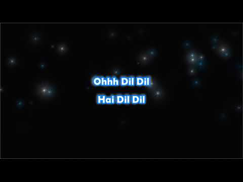 Dil Ka Rishta - Yuvraaj - Karaoke with Lyrics