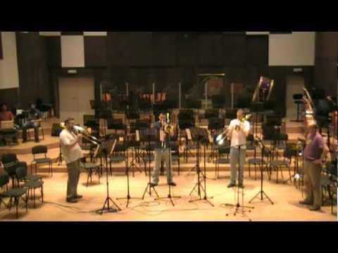 """""""August"""" - Belgrade trombone quartet"""
