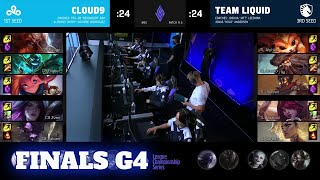 C9 vs TL-게임 4 | 그랜드 파이널 LCS 2021 Mid-Season Showdown | Cloud 9 vs Team Liquid G4 제품 판
