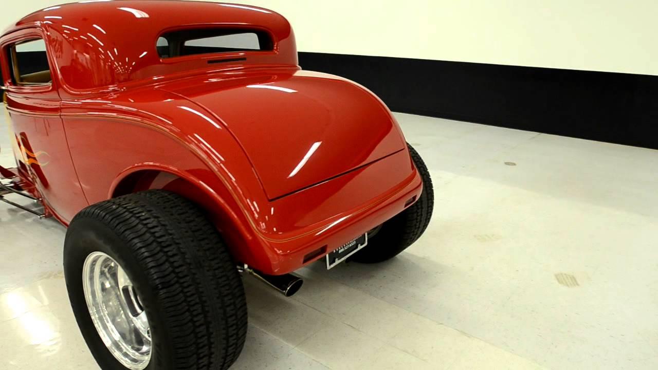 1932 ford model a street rod highboy stock f1093 for Garage ford orange