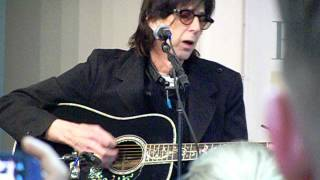 "Rick Ocasek The Cars sings acoustic ""Drive"" at Barnes & Noble NYC 12-13-2012"