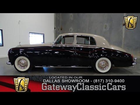 1965 Rolls Royce Silver Cloud III #339-DFW Gateway Classic Cars of Dallas