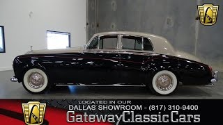 1965 Rolls Royce Silver Cloud III #339-DFW Gateway Classic Cars of Dallas