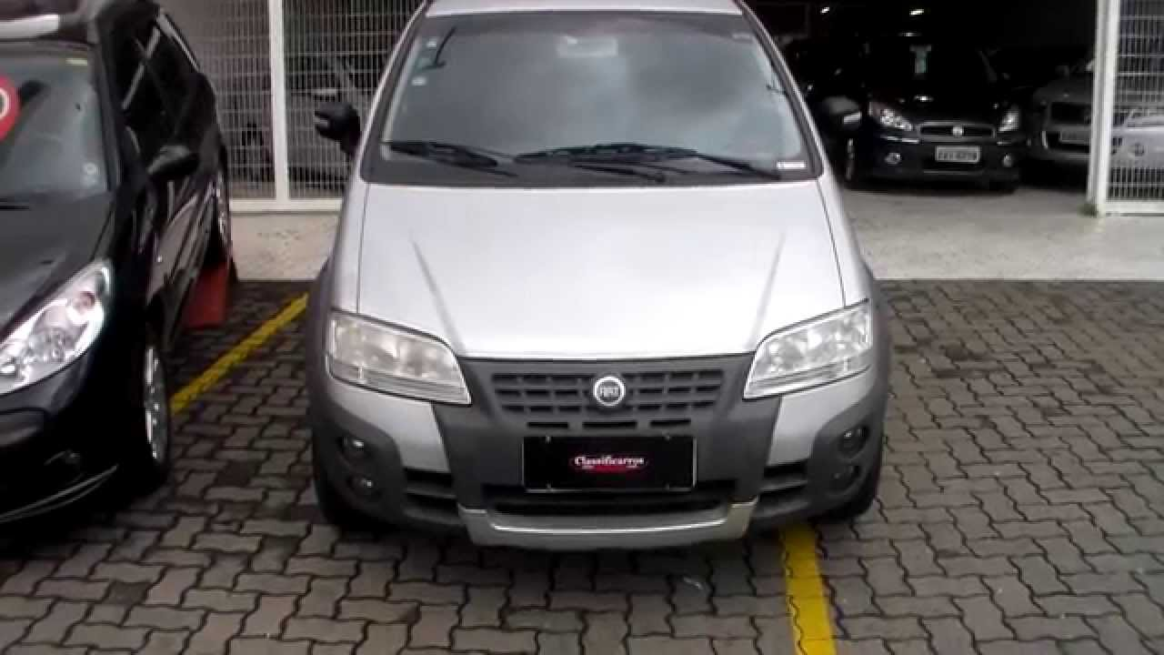 fiat idea adventure 1 8 8v flex 4p 2008 youtube