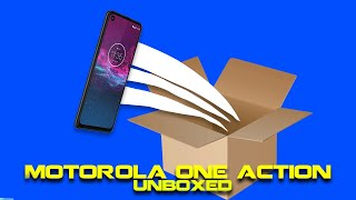 Motorola One Action Unboxing