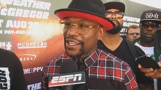 Floyd Mayweather 'knows what it takes' to defeat Conor McGregor | ESPN