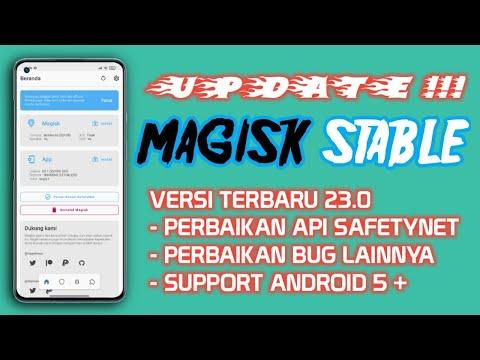 Update Terbaru MAGISK STABLE v23 sudah rilis dan Safetynet sudah di Fix