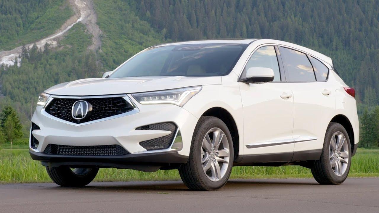 2019 Acura Rdx Advance Driving Interior Exterior White
