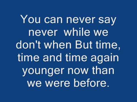 The Fray- Never Say Never Lyrics