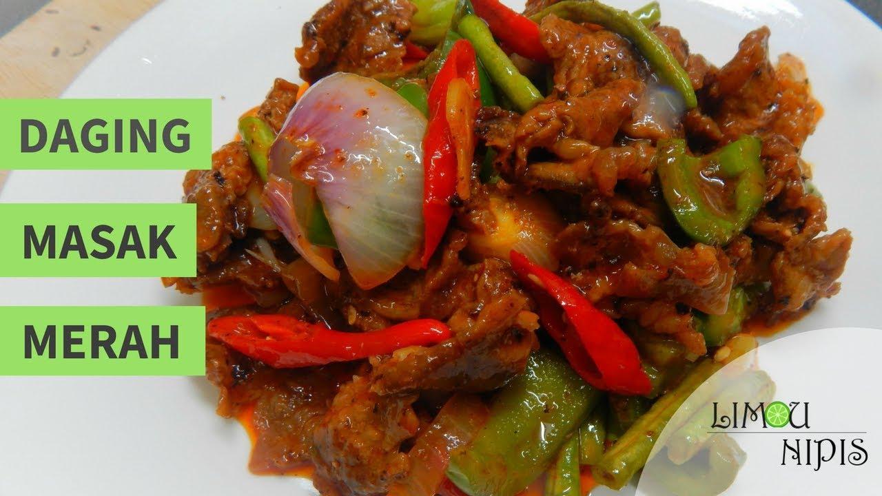 Ayam Masak Merah (Chicken in Spicy Tomato Sauce)