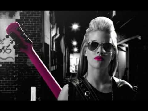 Jasmine Rae - Pink Guitar ( Official Music Video )