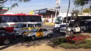 Saliendo de Puebla CAPU en Autobuses ADO